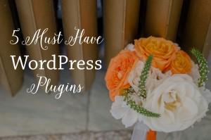 5 Must Have WordPress Plugins