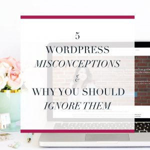 WordPress gets a bad wrap sometimes but it a really flexible powerful platform for running your online business' website