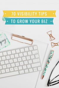 Visibility strategies come in all shapes and sizes try these different visibility tips to find out what works for your online business and attracts more leads for your business.