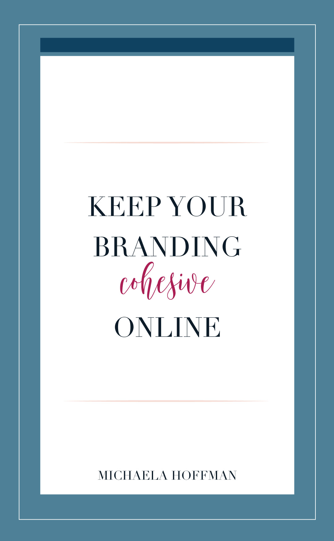 Are you struggling with keeping your branding cohesive online? If you are a small business owner, blogger, or entrepreneur trying to build a community online having a consistent cohesive brand online is huge for business growth. How to keep your branding cohesive online.