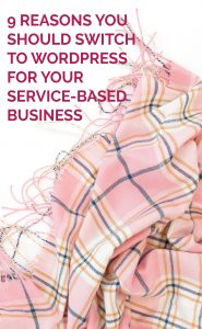 Pink flannel blanket - 9 reasons you should switch to WordPress for your Service based business